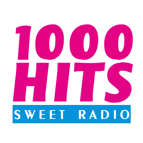 Логотип радиостации 1000 hits sweet radio