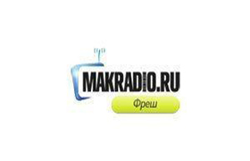 Логотип радиостации Makradio Fresh
